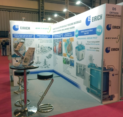 Orthos and Eirich at Concrete Show 2018